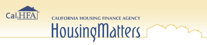 CalHFA Housing Matters Newsletter