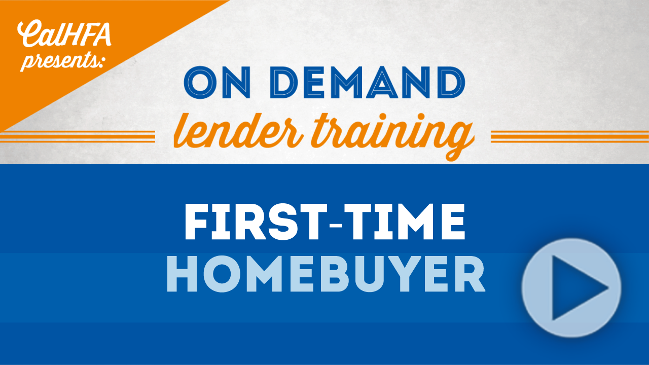 First Time Homebuyer Video Thumbnail