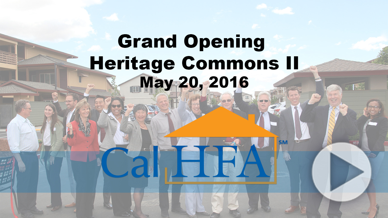 Heritage Commons Phase 2 Grand Opening