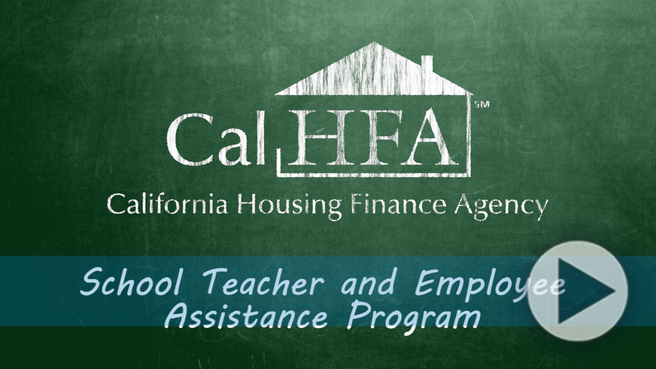 Homebuyers Loan Program Ca Housing Finance Agency