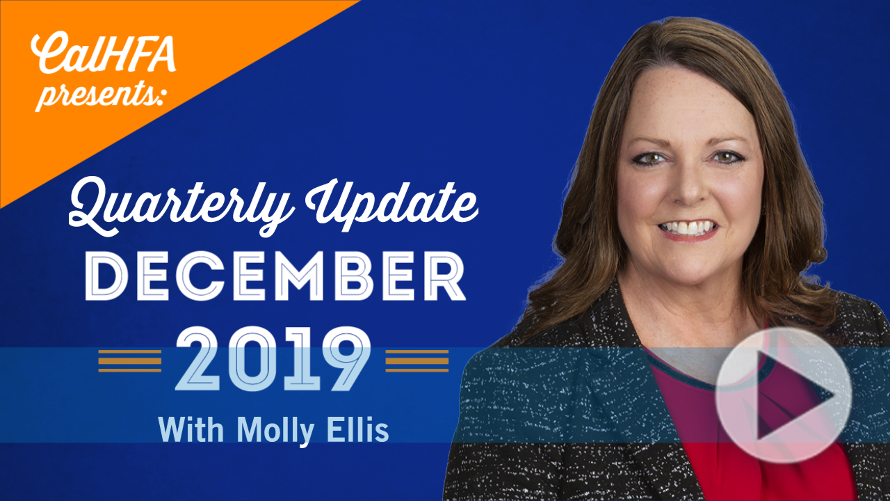 CalHFA Update December 2019 Thumbnail